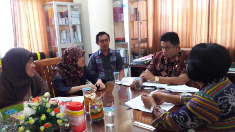 Audiensi ke Pemda Provinsi Nusa Tenggara Barat 2016